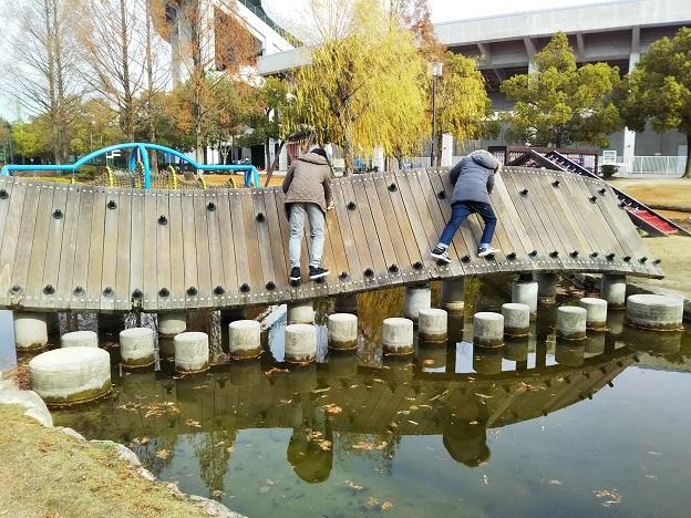 倉敷スポーツ公園 わんぱく広場 斜め板