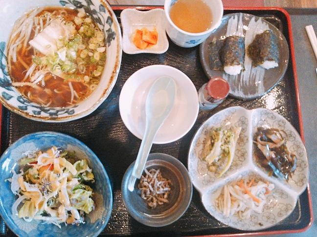 コリアンキッチン京城 ラーメン定食
