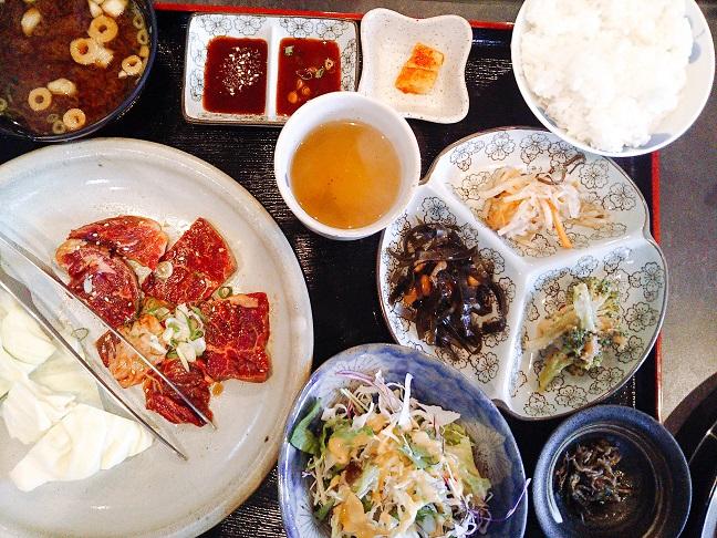 コリアンキッチン京城 ハラミ定食