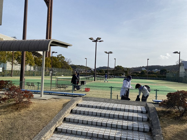 倉敷スポーツ公園テニスコート