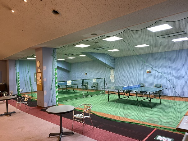 倉敷スポーツ公園卓球