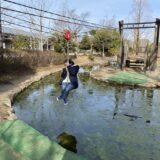 岡山県倉敷スポーツ公園 わんぱく広場 アスレチックと施設