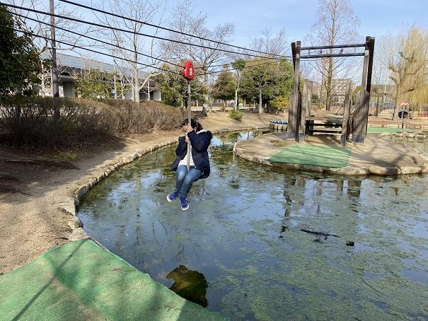 倉敷スポーツ公園アスレチック