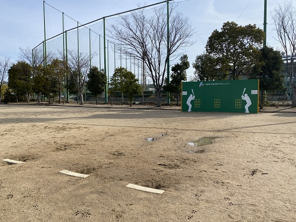 倉敷スポーツ公園ベース・ウォール