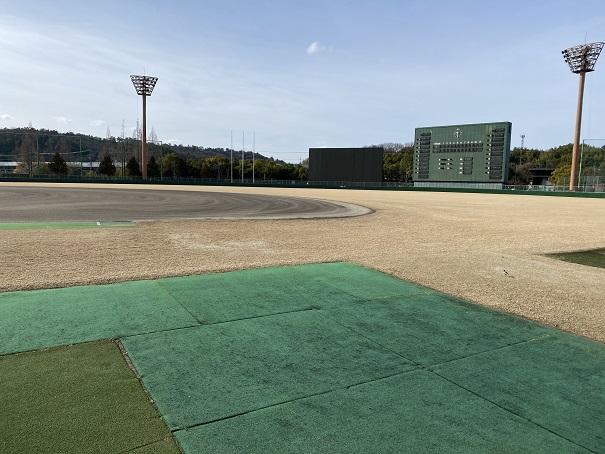 倉敷スポーツ公園補助野球場