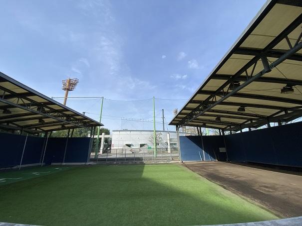 倉敷スポーツ公園投球練習場