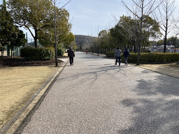 倉敷スポーツ公園ウォーキング