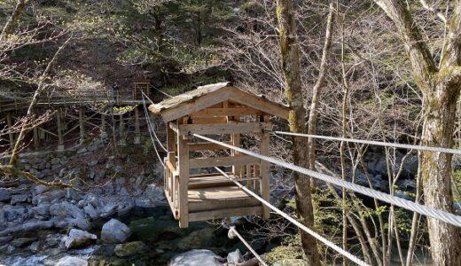 奥祖谷二重かずら橋 男橋 女橋 観光 野猿で川を渡る 三好市