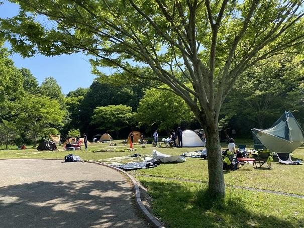 キャンプサイトフォレスタ!早島町ふれあいの森公園