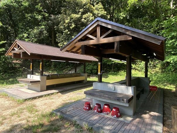 炊事棟キャンプ場