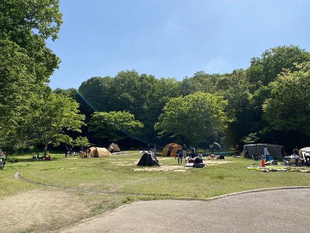 キャンプ場フォレスタ!早島町ふれあいの森公園