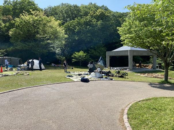 メインステージキャンプ場