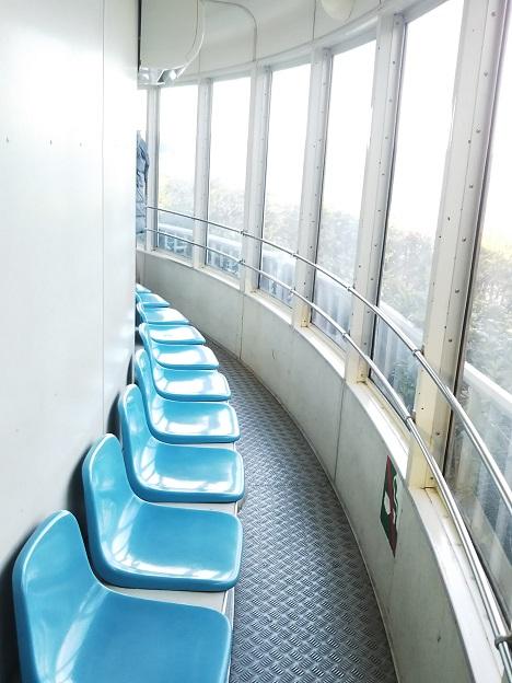 瀬戸大橋タワー 座席