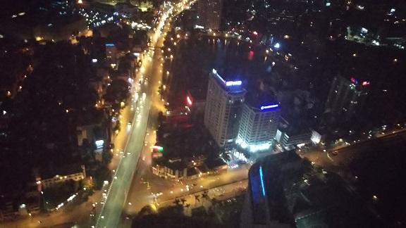 ロッテホテル夜景