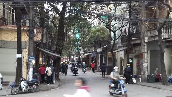 ベトナムハノイ街並み