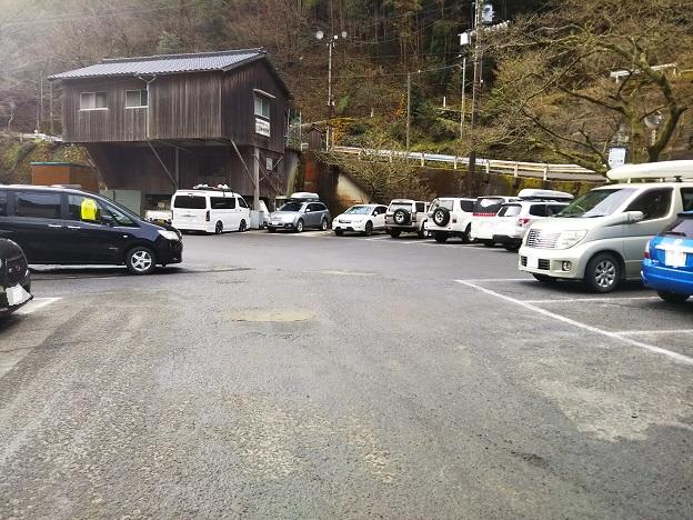 石鎚スキー場 駐車場2