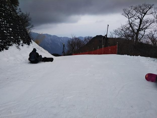 石鎚スキー場 成就A
