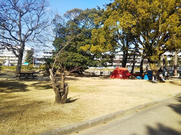 丸亀城内公園1