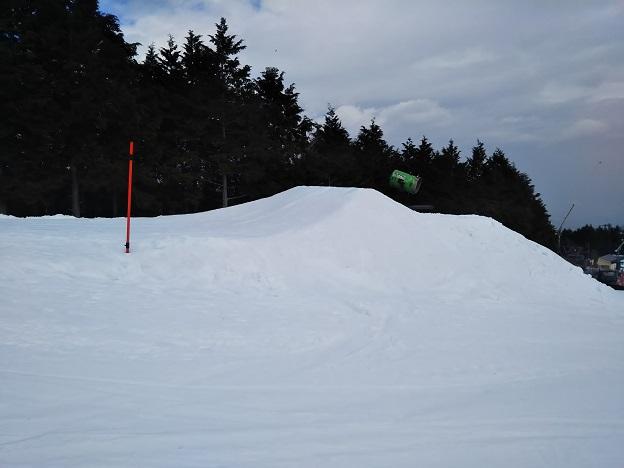 石鎚スキー場 ピクニック園地 キッカー