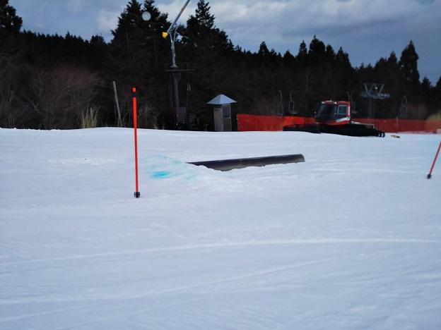 石鎚スキー場 ピクニック園地 レール