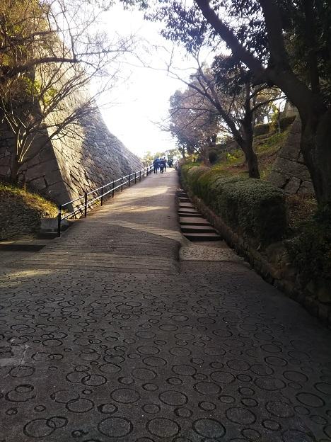 丸亀城 見返り坂2