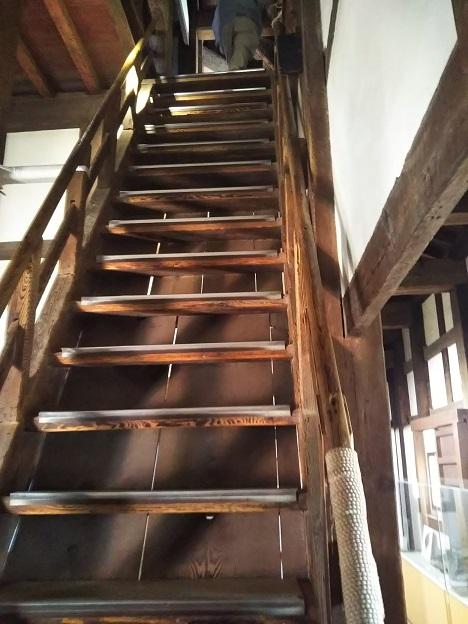 丸亀城 天守 階段
