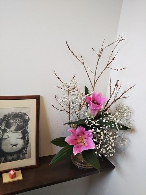 コリアンキッチン京城 お花1
