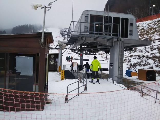 井川スキー場トリプルリフト 乗り場