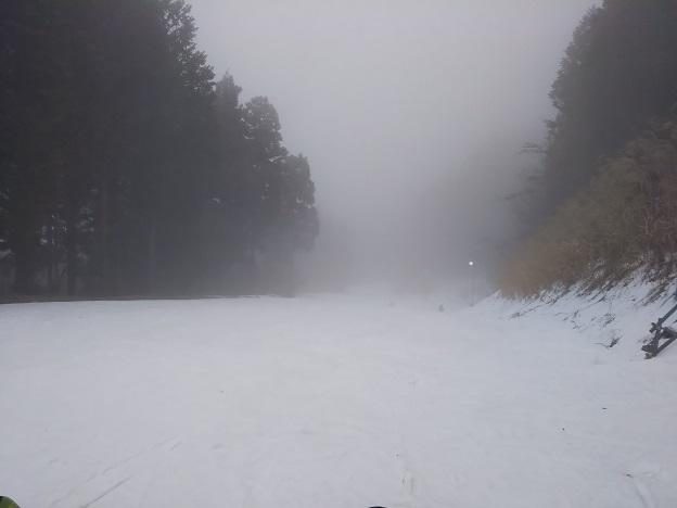 井川スキー場 ナデシココース1