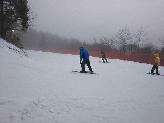 井川スキー場 初級ナデシココース2