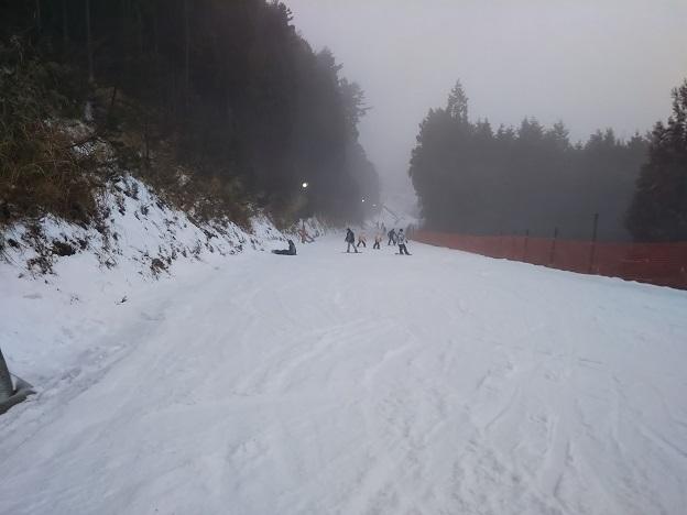 井川スキー場 初級ナデシココース3