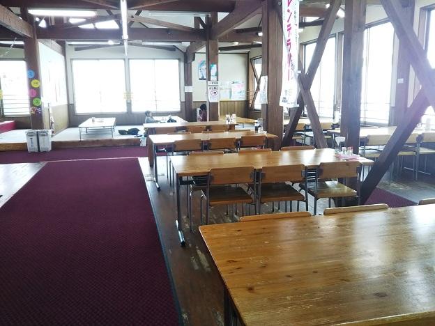 井川スキー場腕山 レストラン店内
