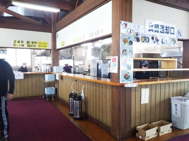 井川スキー場腕山 レストラン カウンター