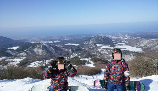 四国のスノーボードが出来るおすすめスキー場5選