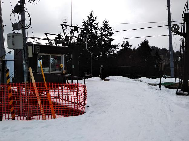 石鎚スキー場 第3リフト