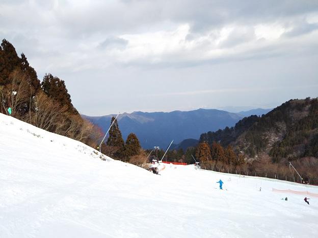 石鎚スキー場 成就Aコース2