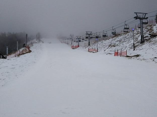井川スキー場 パノラマコース