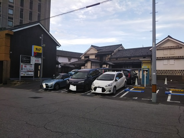倉敷美観地区 駐車場2