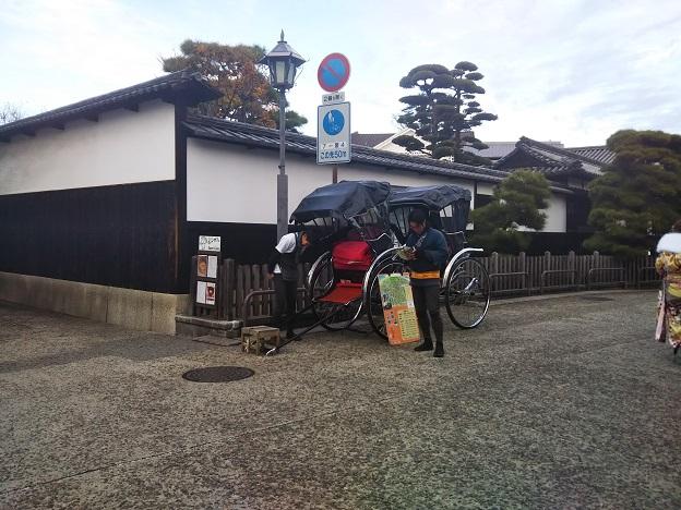 倉敷美観地区 人力車