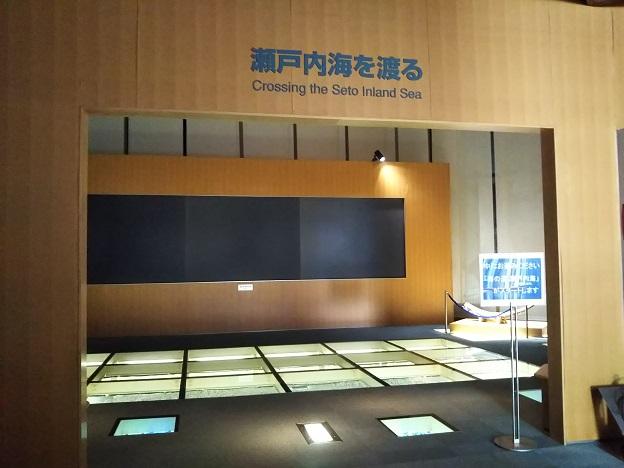 瀬戸大橋記念館 展示室1