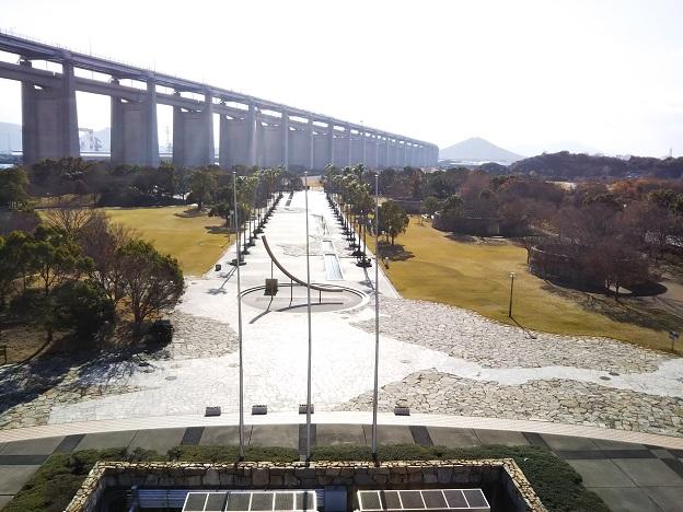 瀬戸大橋記念館 屋上展望台2