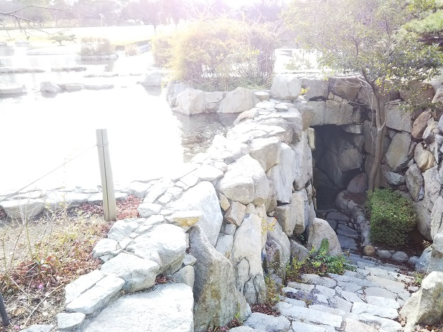 瀬戸大橋記念公園 くぐり滝2