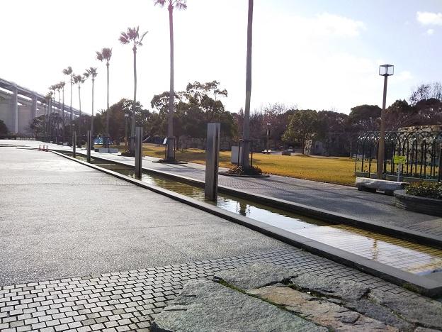 瀬戸大橋記念公園 水の回廊