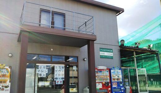 松山市の卓球とミニセグウェイもあるバッティングセンター アミスポプラザ三津