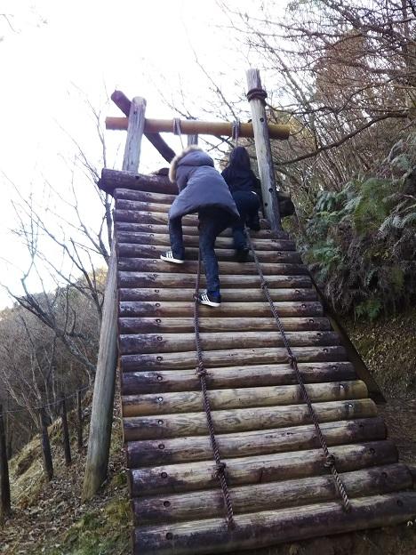 えひめ森林公園 アスレチック ③-1