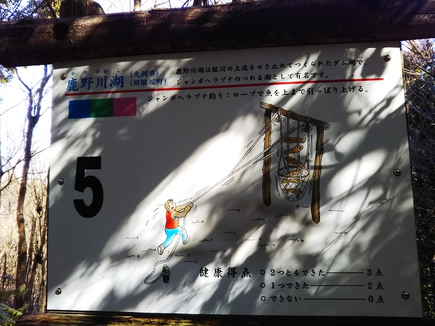 えひめ森林公園 アスレチック⑤看板
