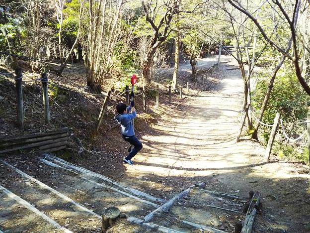 えひめ森林公園 アスレチック ⑫
