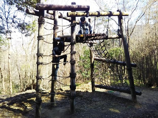 えひめ森林公園 アスレチック⑭