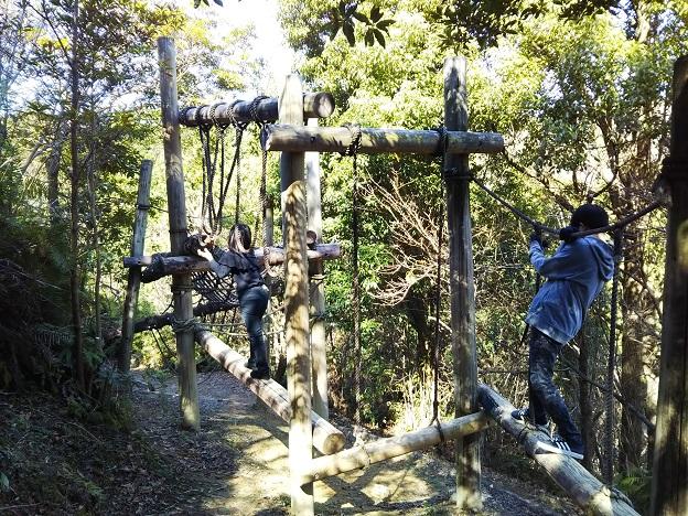 えひめ森林公園 アスレチック ㉓