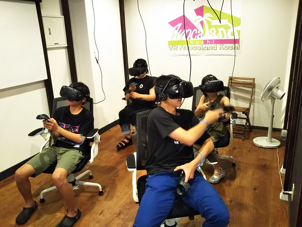 VR Avocaland Kochiでゲーム開始